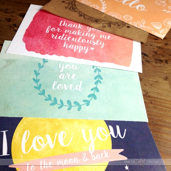 Printable Love Note Ideas