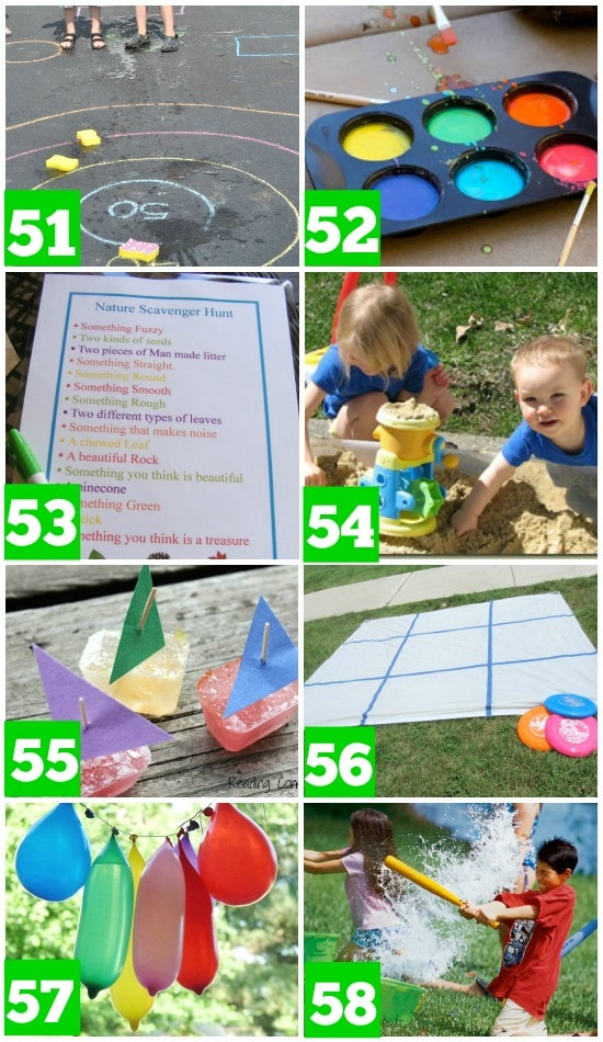50 Simple Outdoor Activities For Kids - No Time For Flash ...