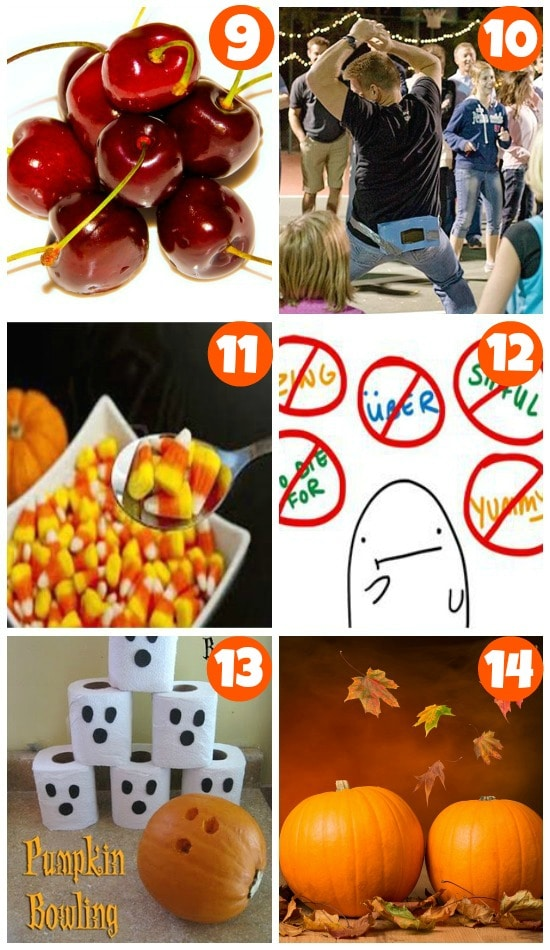 fun and silly halloween games 9-14