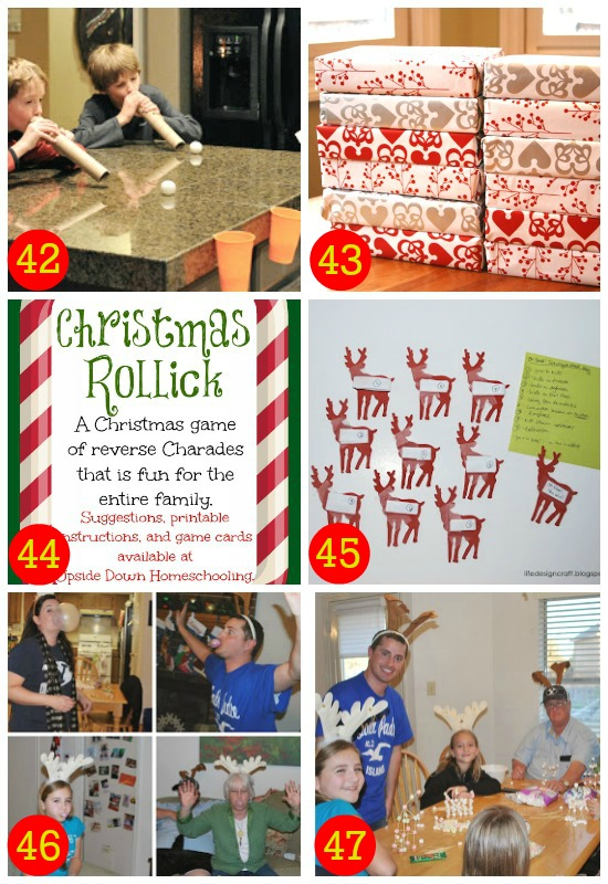 Fun holiday games for all ages.