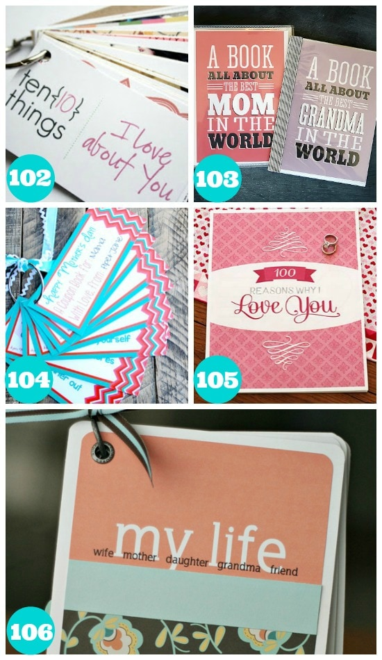 Awesome Mothers Day Printables