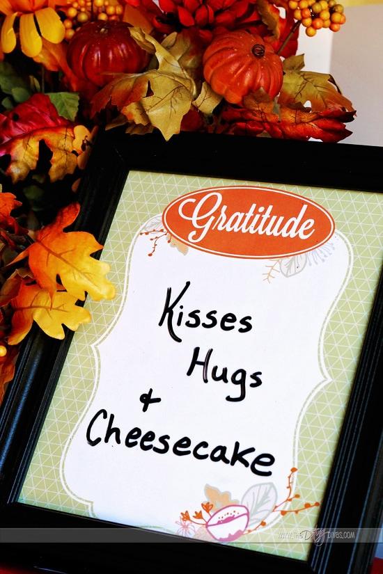 Gratitude Printable to Write On