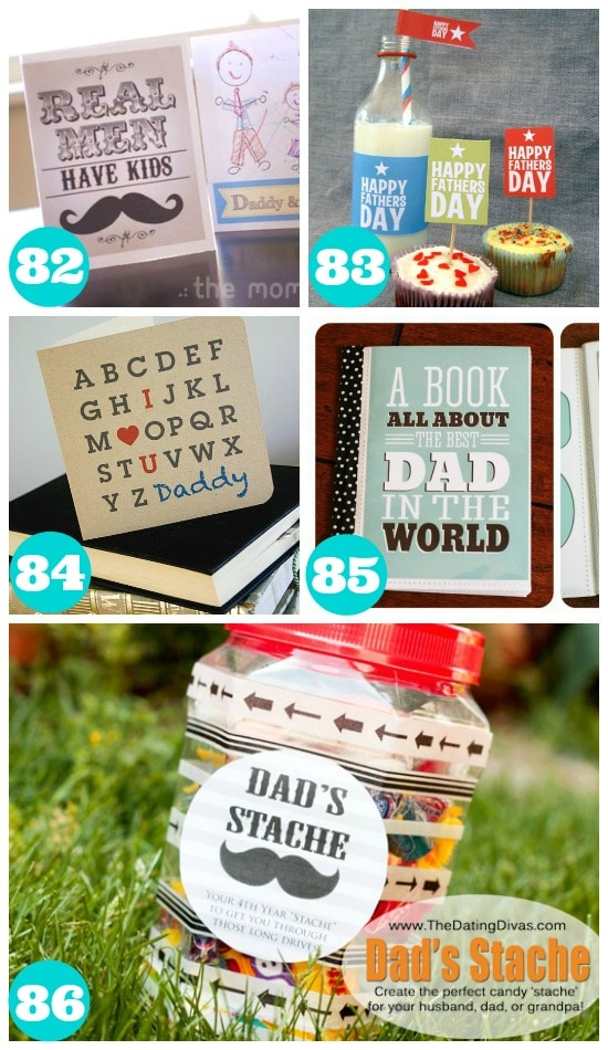 Awesome Fathers Day Printables