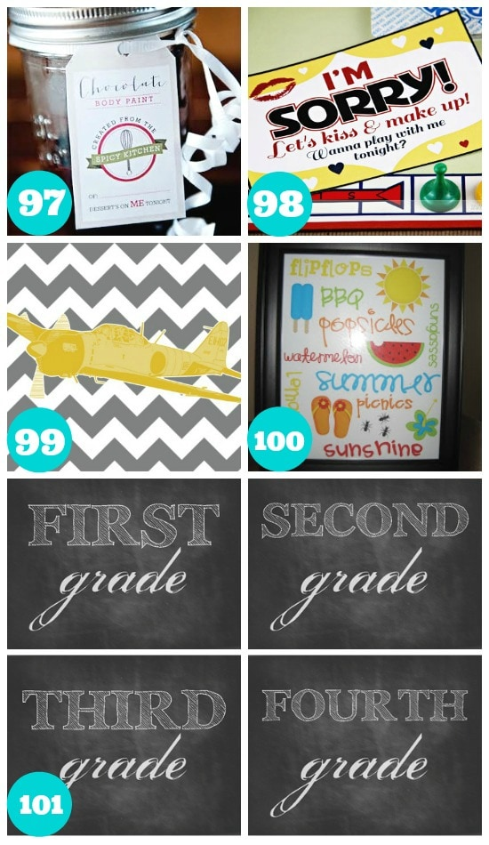Exciting Holiday Summer Printables