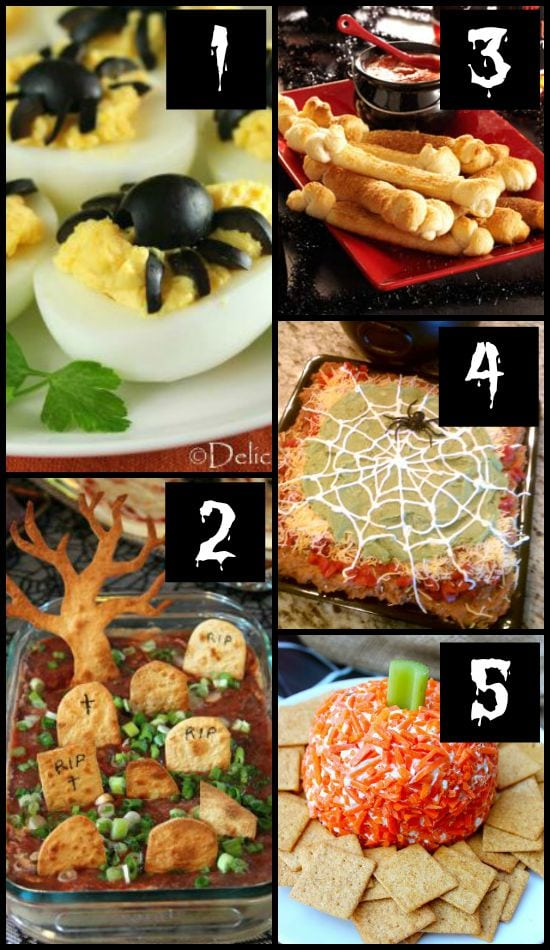 Halloween Party Dinner Ideas Part - 44: Halloween Party Appetizers