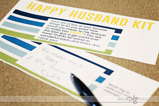happy husband notes