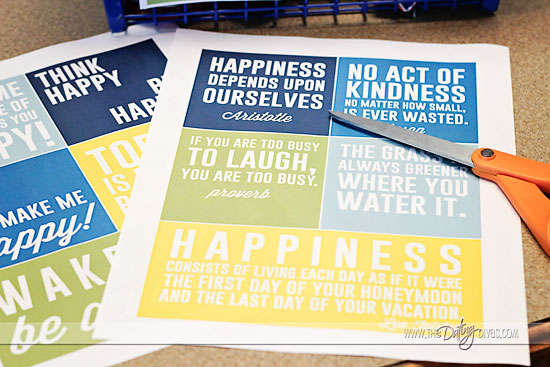 happy quotes to print