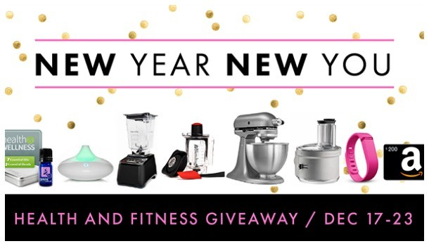Health and Fitness Giveaway