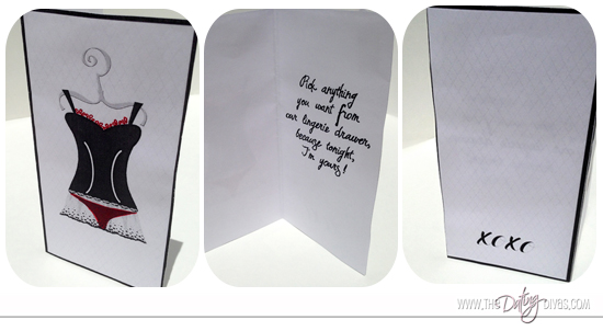 Sexy Love Note