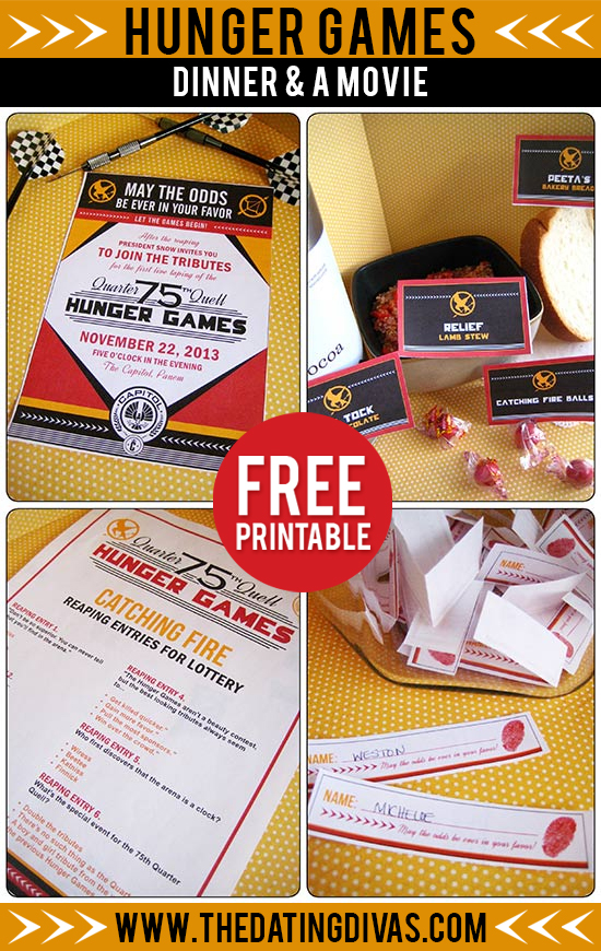 Delightful Free Dinner Party Games Ideas Part - 14: HungergamesPIN-1