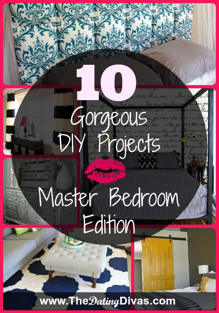 main bedroom decor ideas room decor DIY Master Bedroom Projects. DIY bedroom decor ...