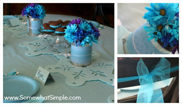 Table Decor, Family Dinner Ideas