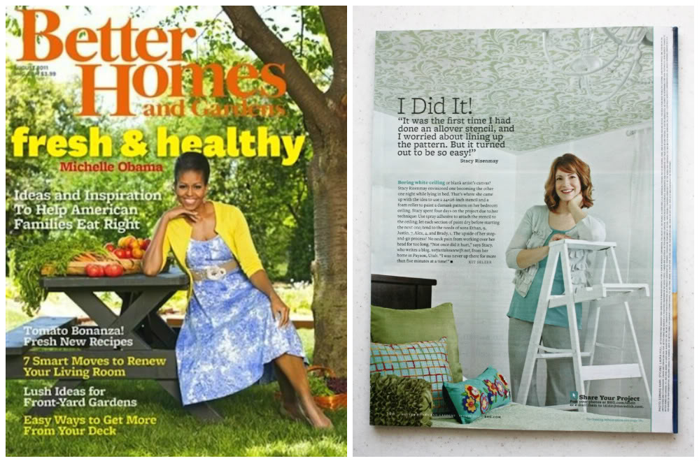Better Homes & Garden Feature from Not Just a Housewife