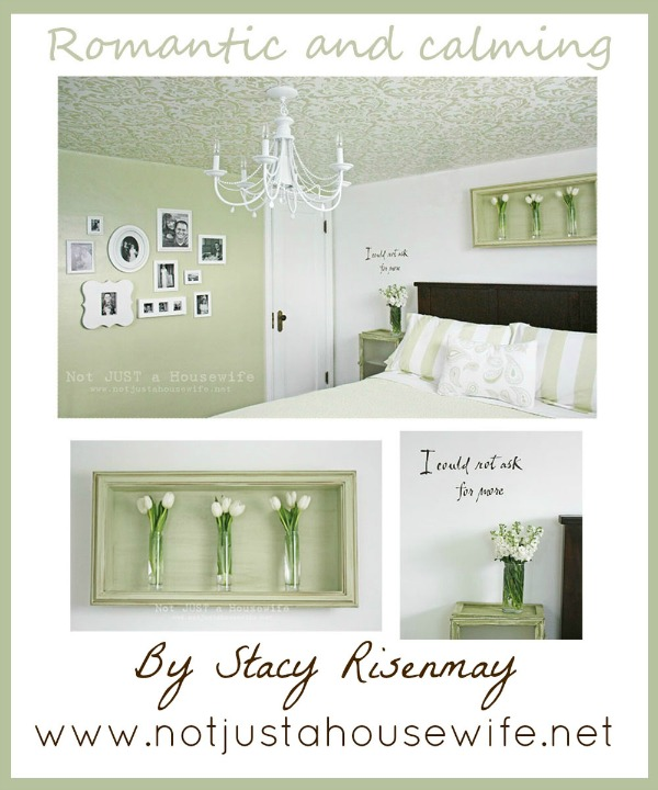 DIY Master Bedroom Ideas from Not Just a Housewife