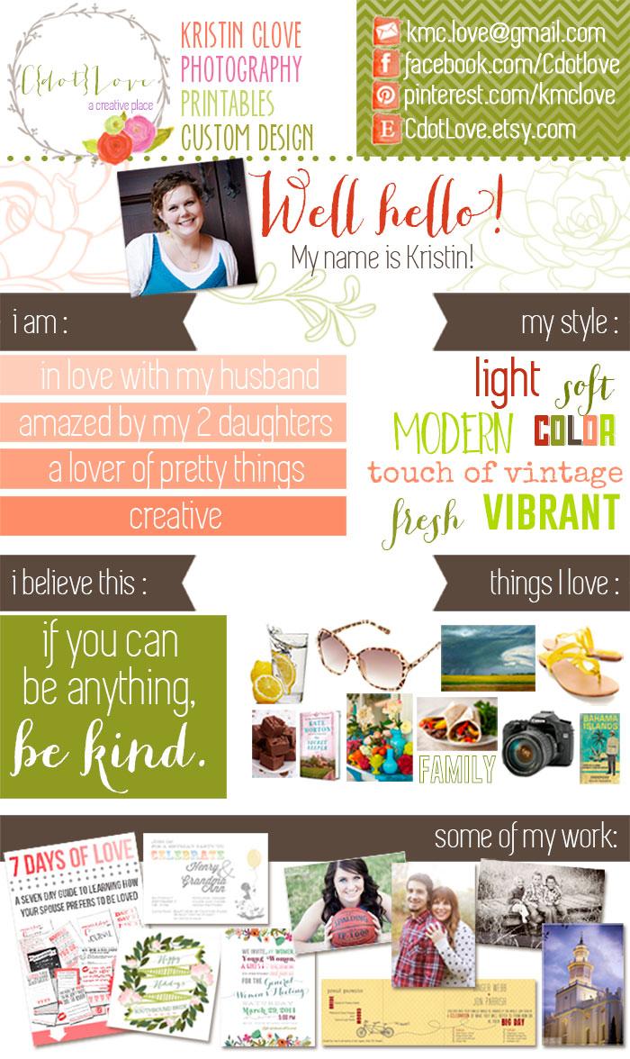 Chrissy - Designer Feature Kristin CdotLove - 1