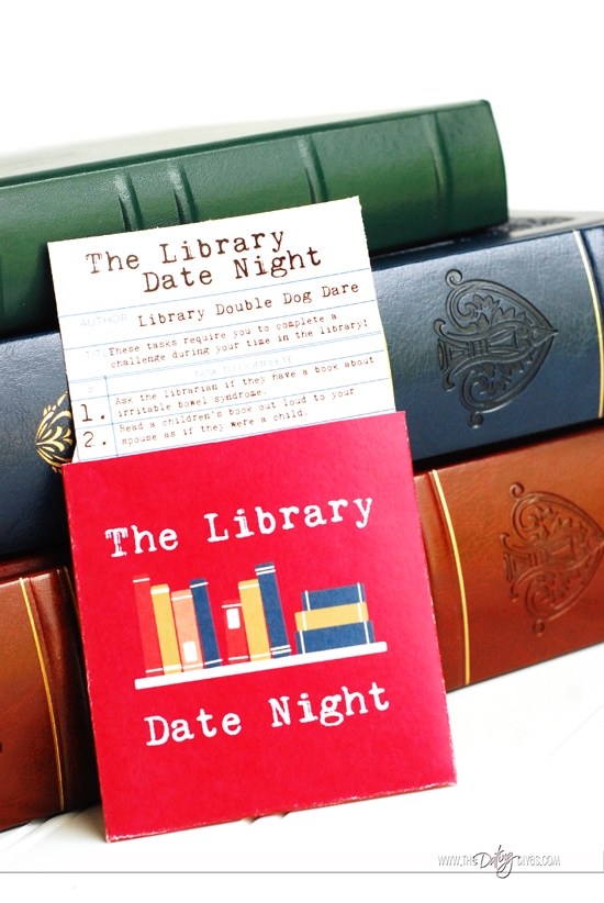 Library Date Night Dares