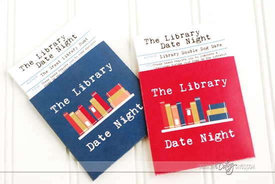 Library Date Night Challenge Cards