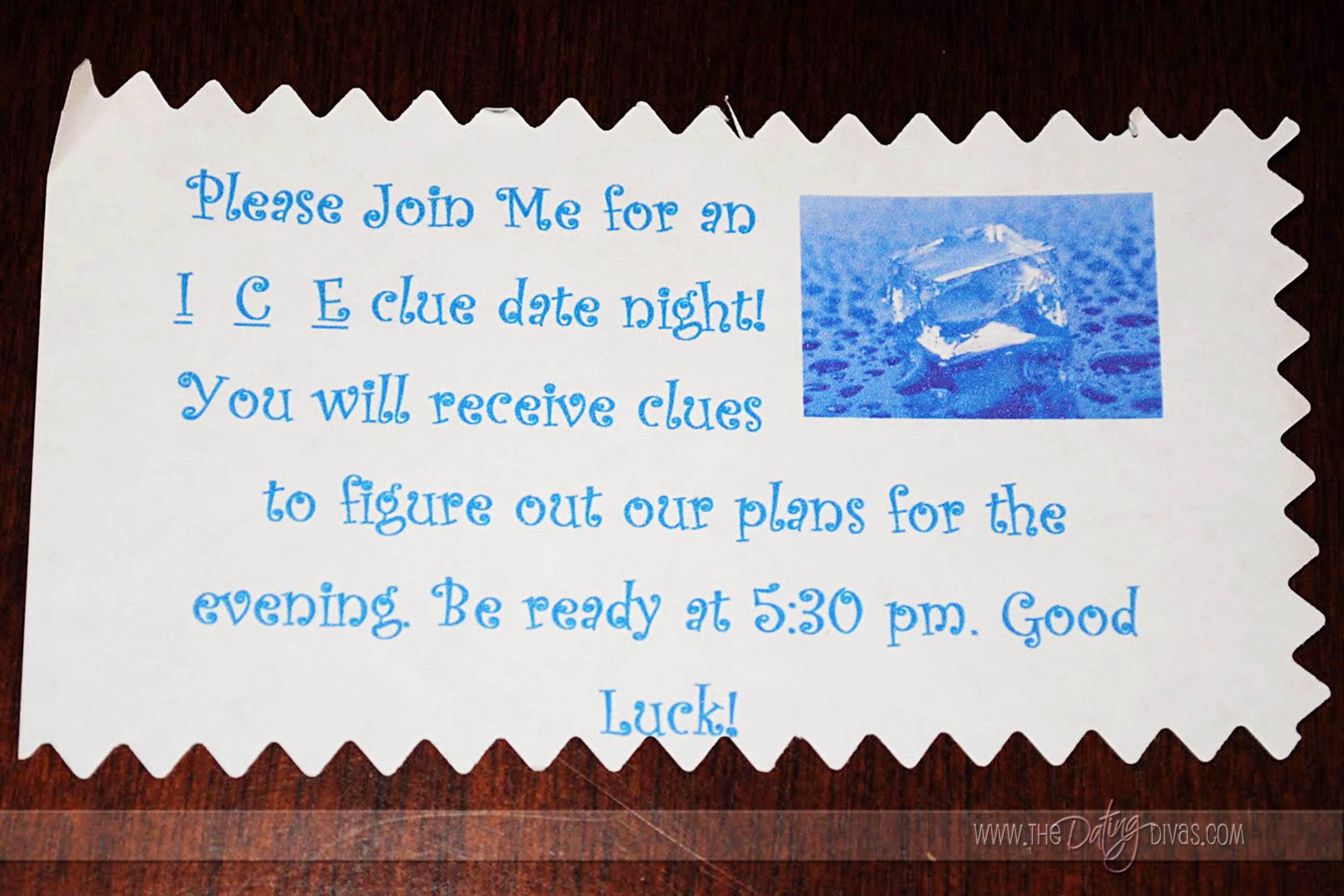 ice clues date night
