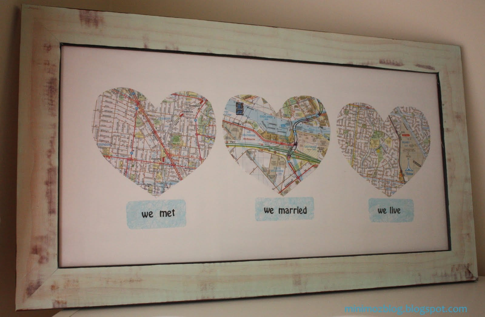 Love map for Best marriage anniversary gifts