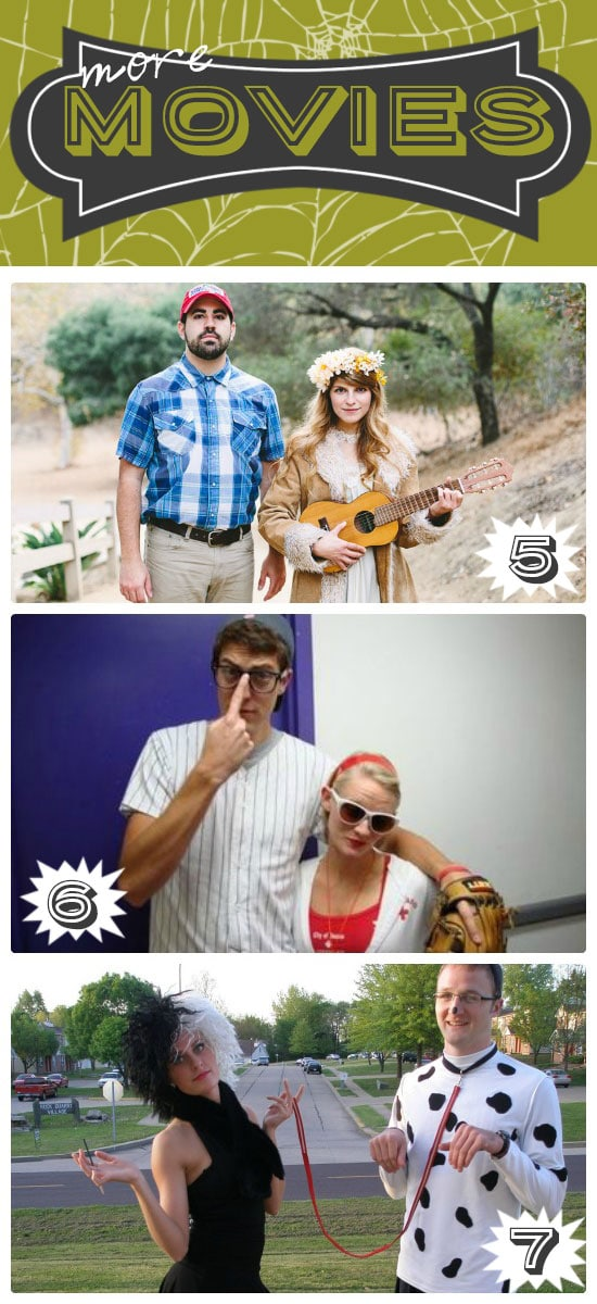 Last Minute Movie Costumes for Couples
