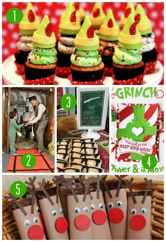 Movie themed christmas party ideas.
