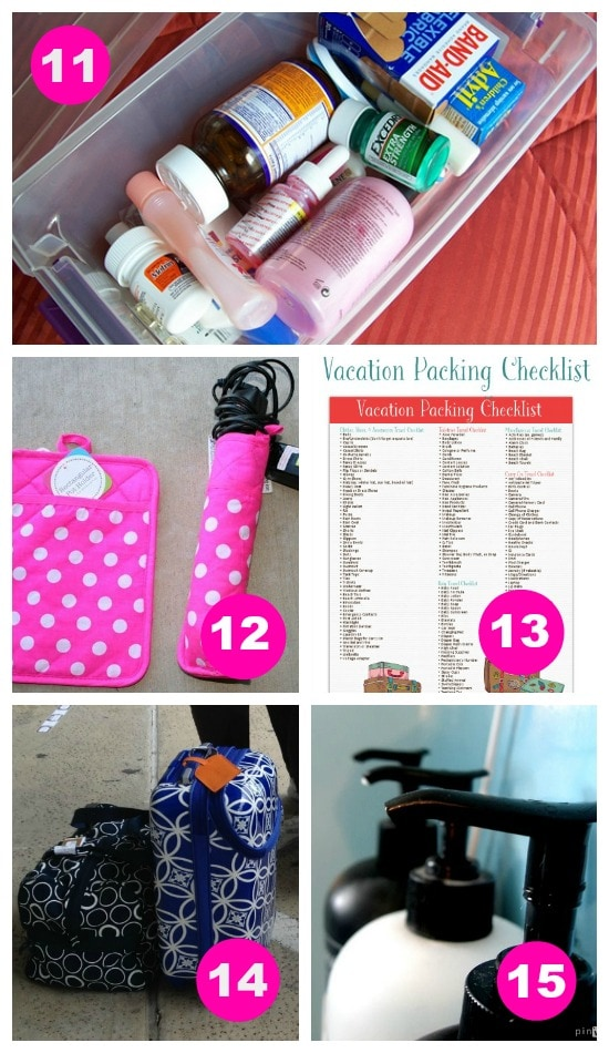 The BEST packing tips and tricks!