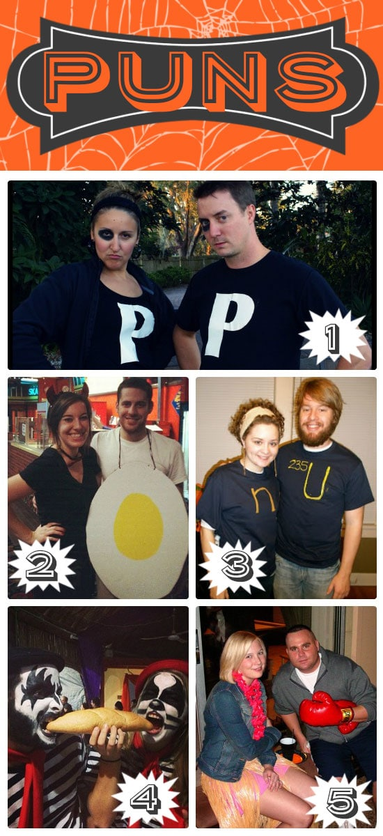Pun Themed Couples Costumes