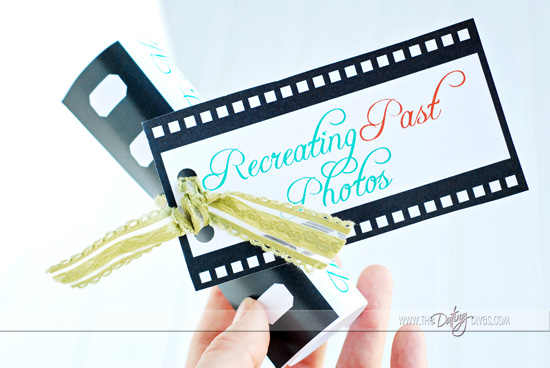recreate a past photo invitation