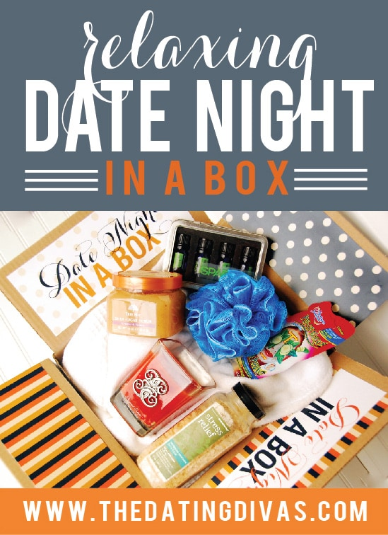 Relaxing Date Night in a Box Ideas