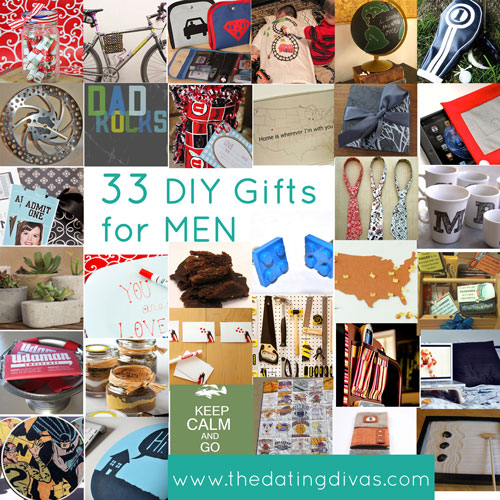 Diy gift ideas for your man for Easy gifts for men