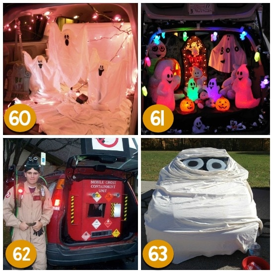 ghosts fill your car with ghosts and lights and you have one ghostly trunk