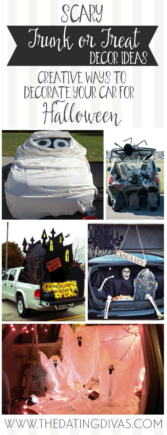 trunk or treat is in celebration of halloween so anything creepy spooky and scary is going to be a big hit check out these ideas for some hair raising