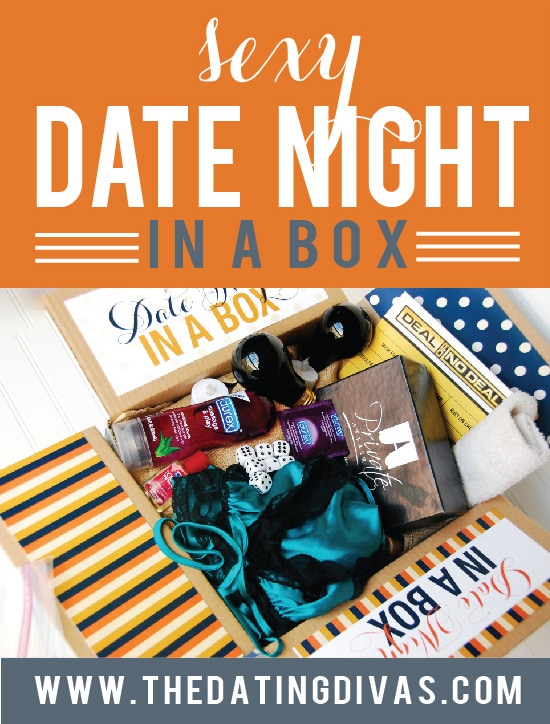 Sexy Date Night in a Box ideas