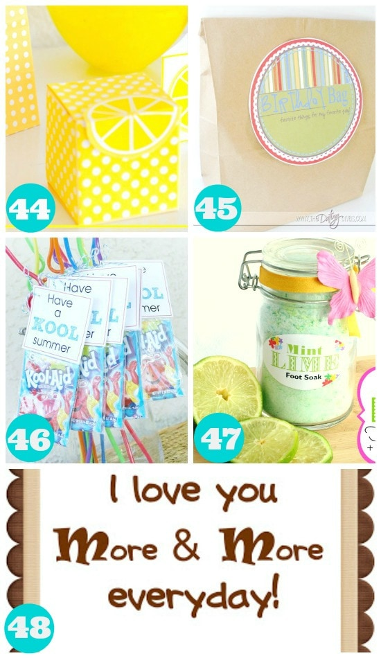 Great Summer Printables for Free