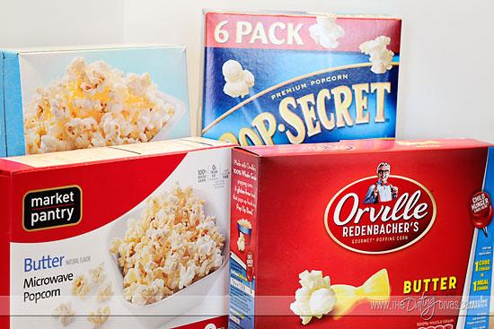taste testing date popcorn