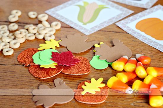 thanksgiving bingo counters
