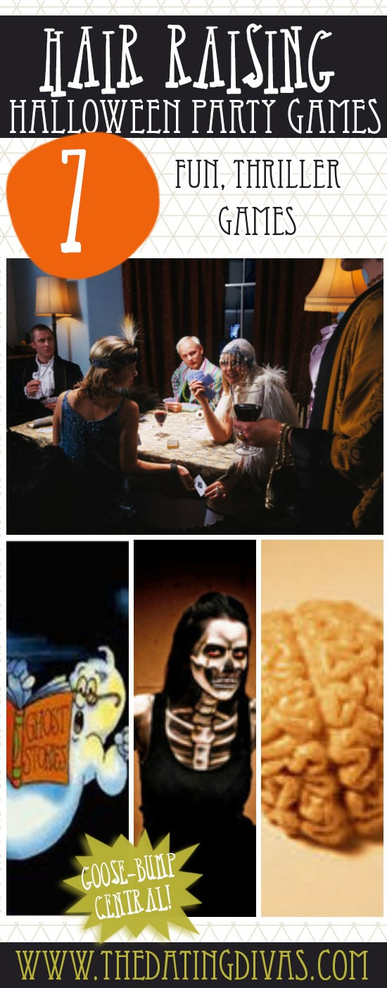 7 fun, thriller halloween games