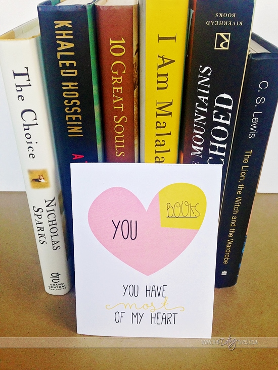 """You have most of my heart"" DIY Valentine'd Day cards FREE at tedatingdivas.com"