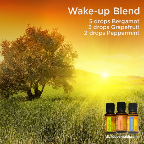 Wake Up Essential Oil Blend