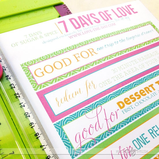 Free printable love notes.