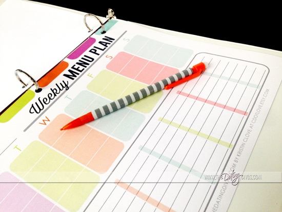 Some meal planning inspiration to achieve those goals in 2015 from www.thedatingdivas.com