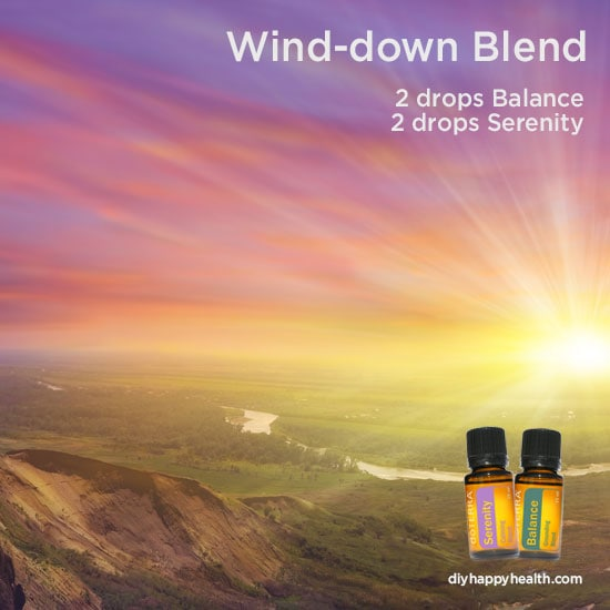 Evening Wind Down Essential Oil Blend